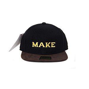 Boné Make Escrito