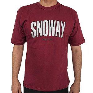 Camiseta Snoway Logo