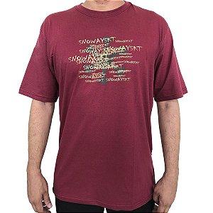 Camiseta Snoway Chaos