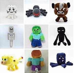 Pelúcias Minecraft - Brinquedos De Pelúcia