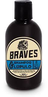 Shampoo & Lúpulo 3 em 1 para Cabelo, Corpo e Barba The Braves - 250ml