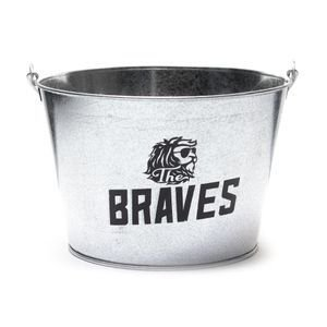 Balde de Gelo The Braves em Aço Galvanizado