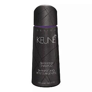 Shampoo Keune para Cabelos Grisalhos Silver Reflex - 250mL