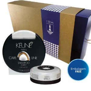 Kit Keune Shampoo Fortify + Cera Matt Effect 30mL