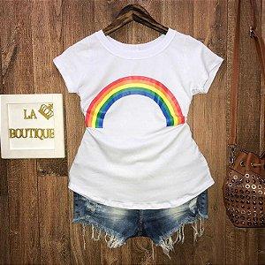 T-shirt Arco Íris