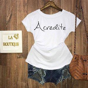 T-shirt Acredite