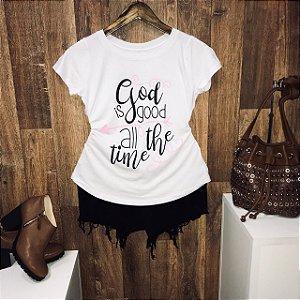 T-shirt Deus é Bom o Tempo Todo