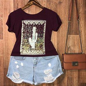 T-shirt Frame Cactus