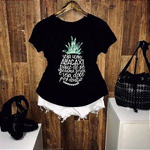 T-shirt Seja um Abacaxi Doce