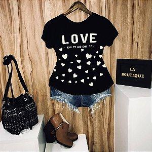 T-shirt Love Rock