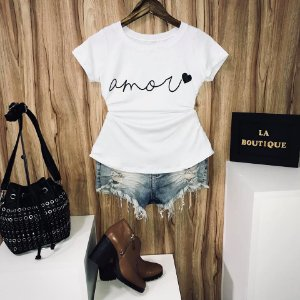 T-shirt Amor Linda