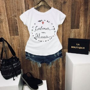 T-shirt Calma na Alma
