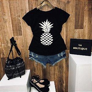 T-shirt Adoro Abacaxi