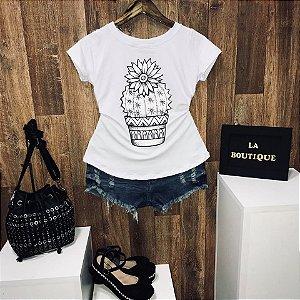 T-shirt Vaso de Cacto
