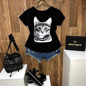 T-shirt Indian Cat