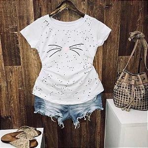 T-shirt Shining Cat