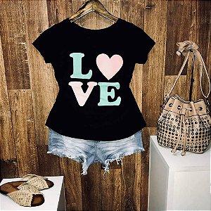 T-shirt Love Color Heart