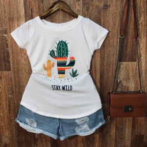 T-shirt Cactus Stay Wild