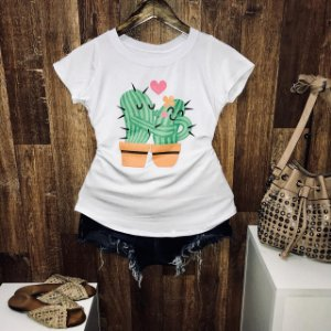 T-shirt Beijinho no Cactus