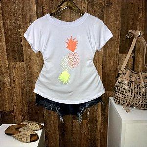 T-shirt Double Abacaxi Laranja e Limão