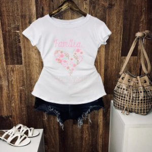 T-shirt Família Meu Tudo!!!