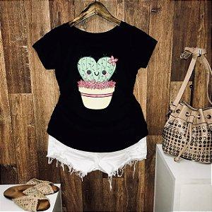 T-shirt Heart Cactus
