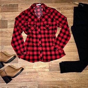Camisa Xadrez Red e Black