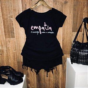 T-shirt Empatia é enxergar com coração