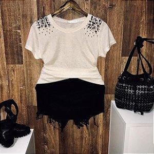 T-shirt Fashion Pedrinhas Off