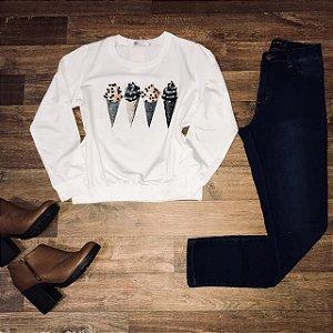 Calça Jeans Lady Rock Hot Pants Azul Escuro