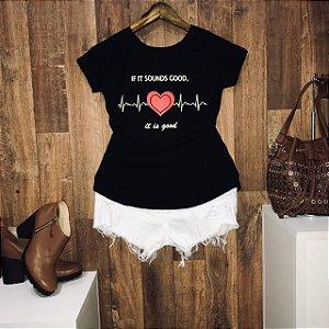 T-shirt  Heart Line