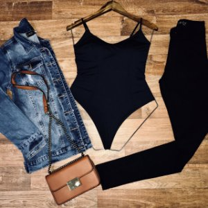 Jaqueta Jeans Lady Rock