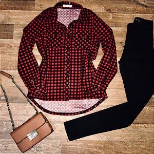 Camisa Xadrez Style Red