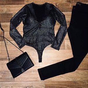 Body Lurex Black