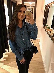 Camisa Jeans Style Azul