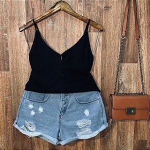 Blusa Alcinha Colors Black