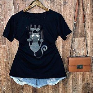Camiseta Gatinho Sapeca