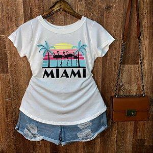 T-shirt Flamingos Miami