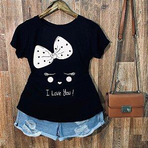 T-shirt Girl i love you