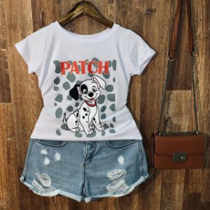 T-shirt Dálmata Patch