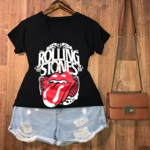 T-shirt Shocker Stones Black