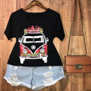 T-shirt Shocker Kombi GG Black