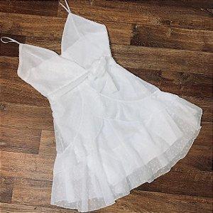 Vestido Curto Tatiana Top Branco