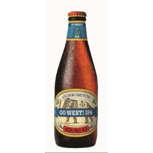 ANCHOR GO WEST IPA 355ML