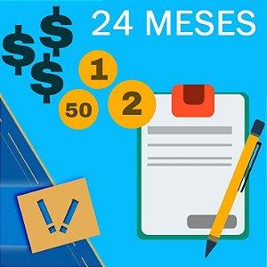 Planilha Excel De Cálculo Para Orçamento Familiar Pessoal Simples 24 MESES