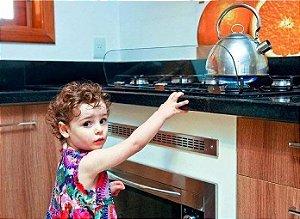 Protetor De Segurança Para Fogão Cooktop Proteque Contra Acidentes Crianças E Família