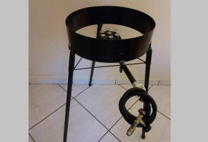 Fogão Fogareiro A Gas Para Disco De Arado Mod 01