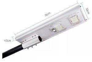 Refletor Luminária Pública Poste Solar 100w Sensor Controle