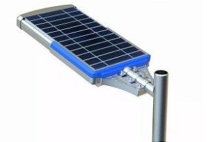 Luminária Solar De Poste Fotovoltaica Publica 50W