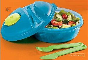 Marmita Tupperware Marmitup Salad Cores 1 Litro